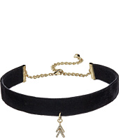 Rebecca Minkoff - Velvet Choker with Arrow