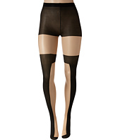 Pretty Polly - Color Block Opaque Sheer Tights