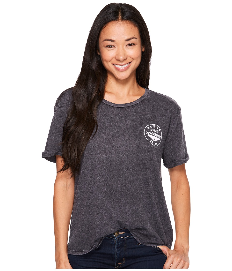 Volcom Radical Days Tee (Black) Women