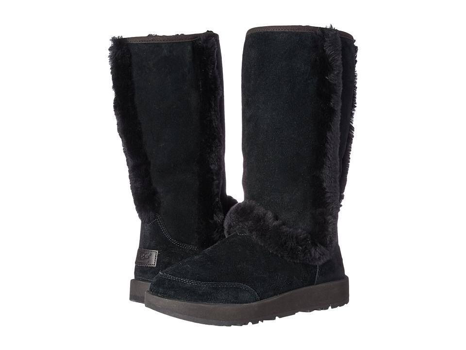 Ugg Sundance Waterproof (Black) Women's Waterproof Boots