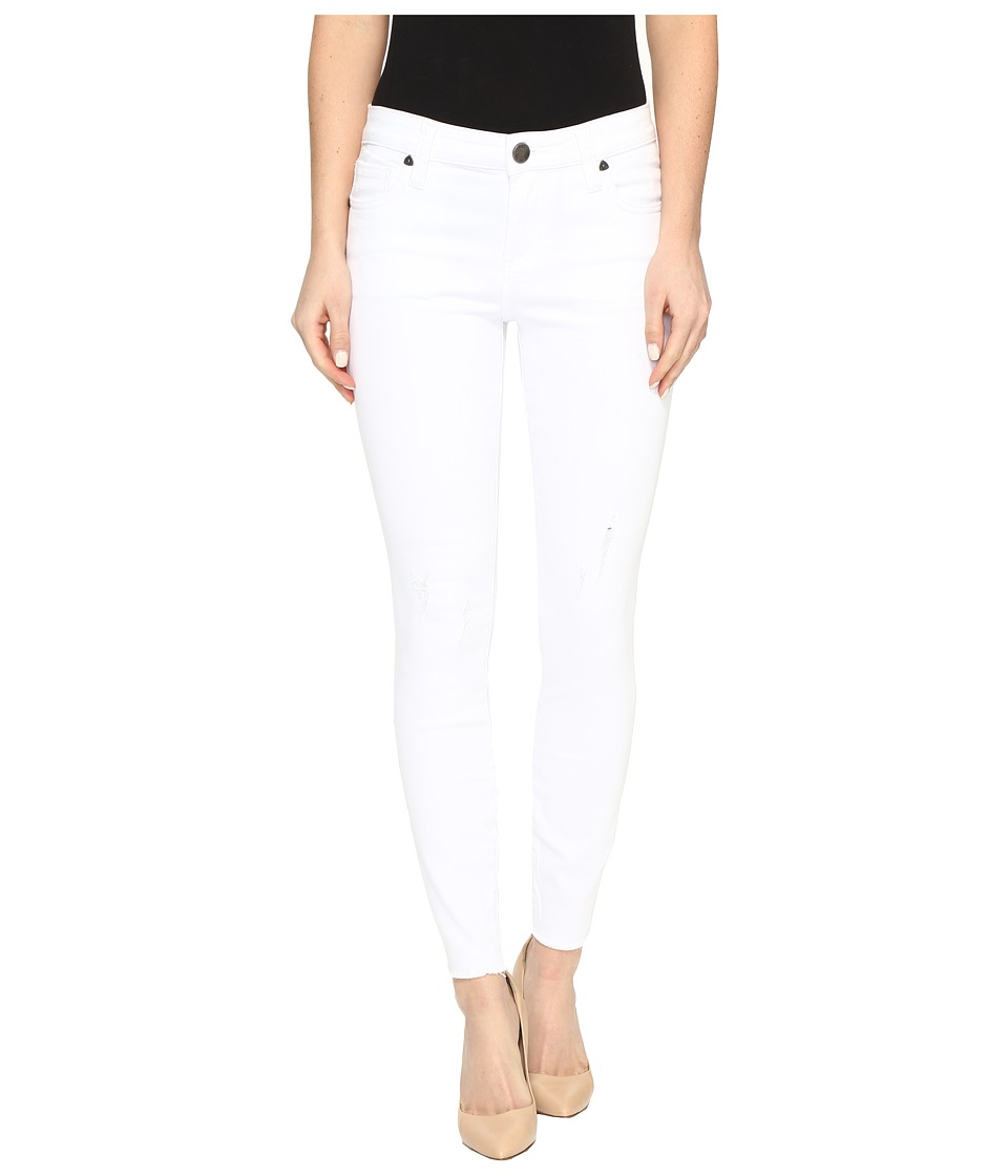 Kut Connie Ankle Skinny in White (Optic White) Women's Jeans