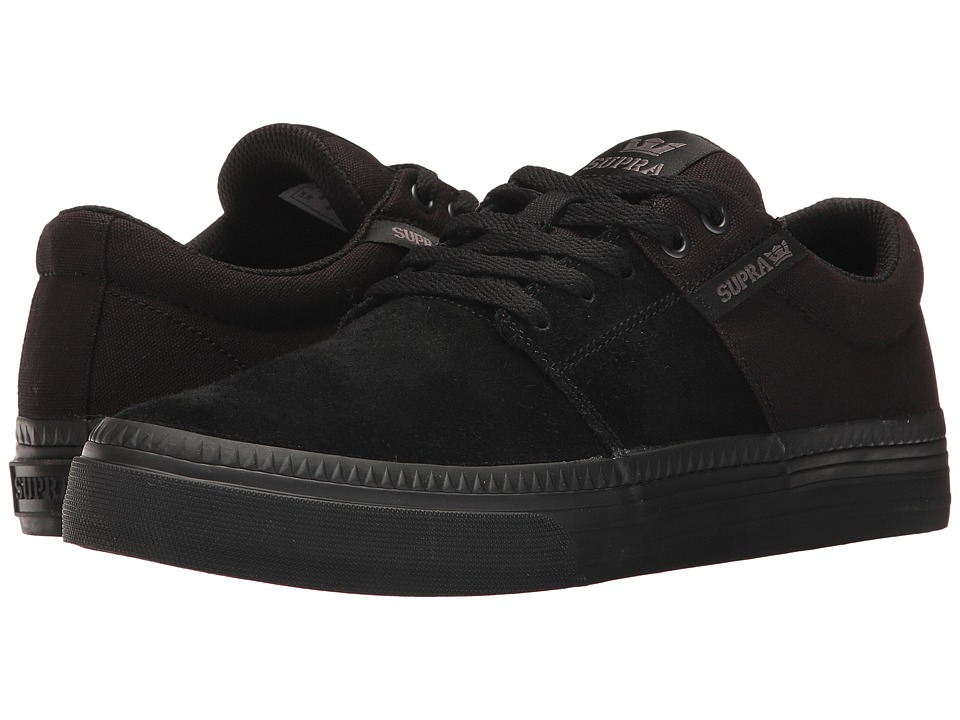 Supra Stacks Vulc II HF (Black/Black) Men
