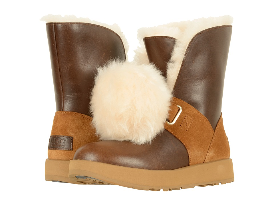 UGG Isley Waterproof (Chestnut) Women