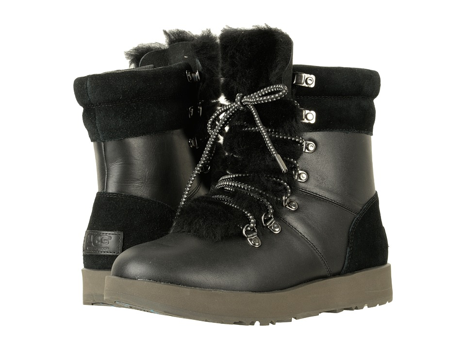 UGG Viki Waterproof (Black) Women's Waterproof Boots