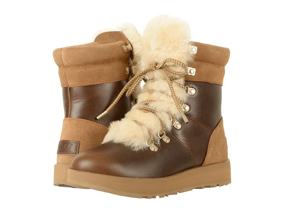 Ugg Viki Waterproof (Chestnut) Women's Waterproof Boots