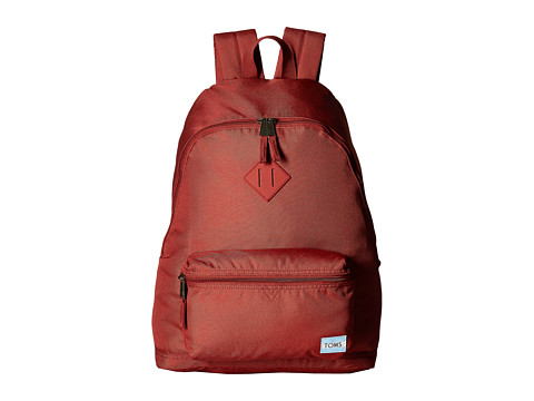 TOMS Poly Backpack - Tomato Red