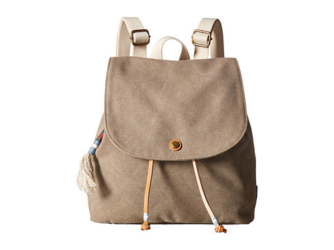 TOMS Canvas Mini Backpack - Desert Taupe