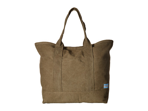 TOMS Canvas Tote - Olive