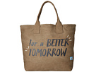 TOMS Printed Canvas Tote