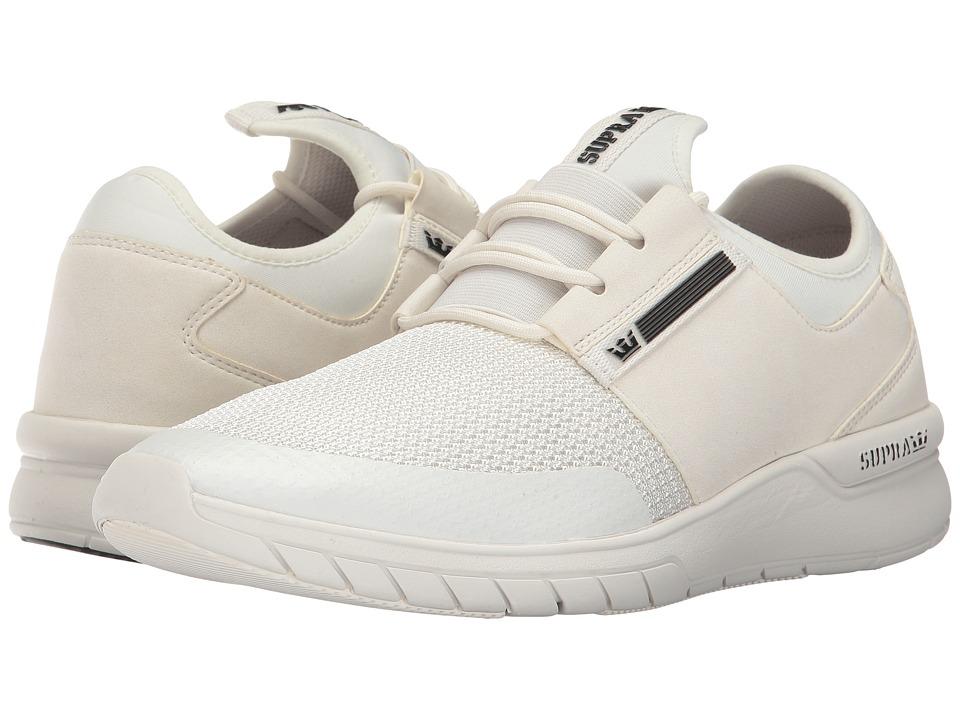 Supra Flow Run (Off-White/Off-White) Men