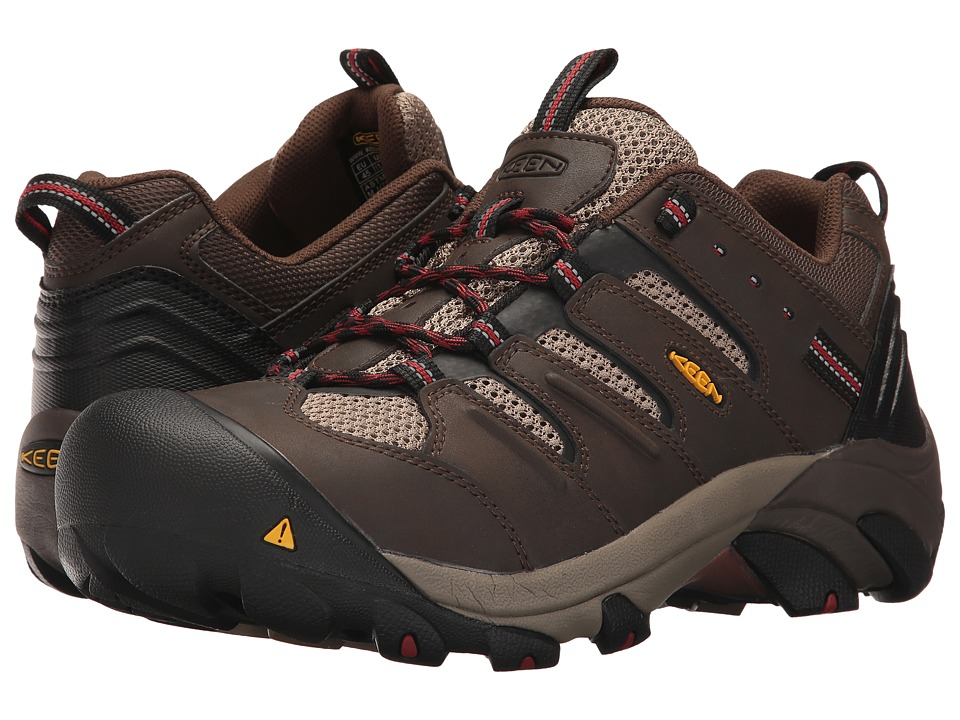 Keen Utility Lansing Low (Cascade Brown/Bosa Nova) Men