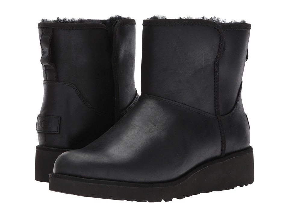 UGG Kristin Leather (Black) Women
