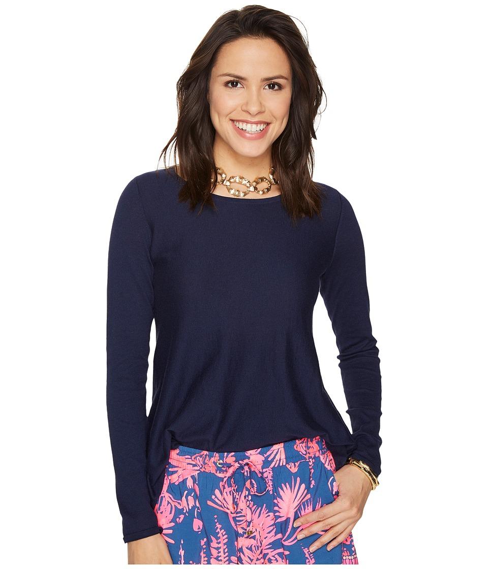 Lilly Pulitzer Ingle Sweater (True Navy) Women