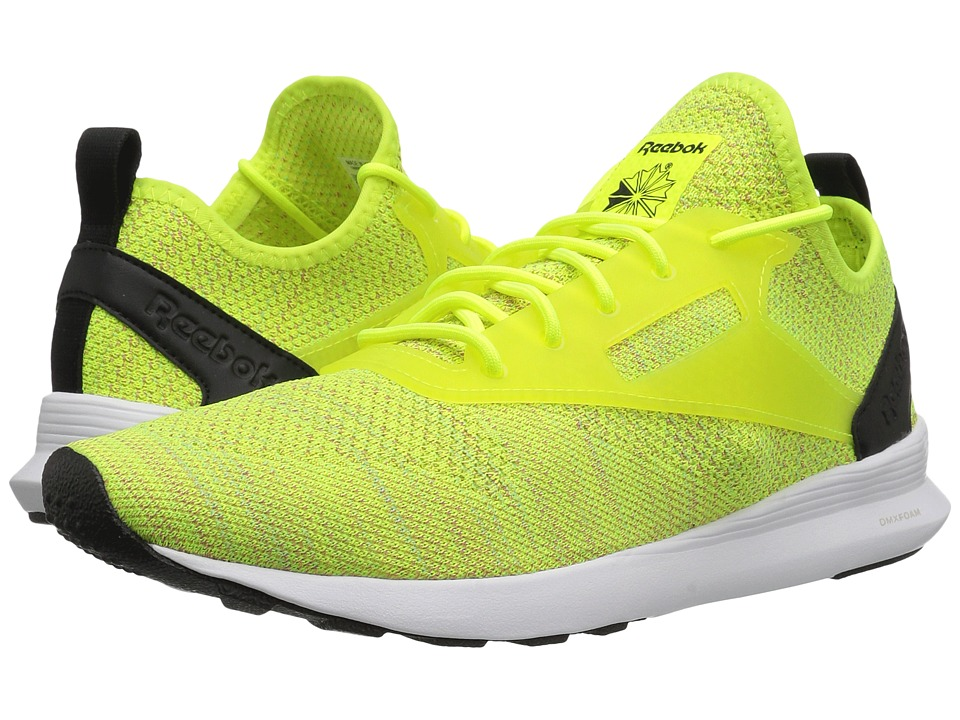Reebok Lifestyle Zoku Runner ISM (Solar Yellow/Neon Blue/Solar Pink/Black/White) Athletic Shoes