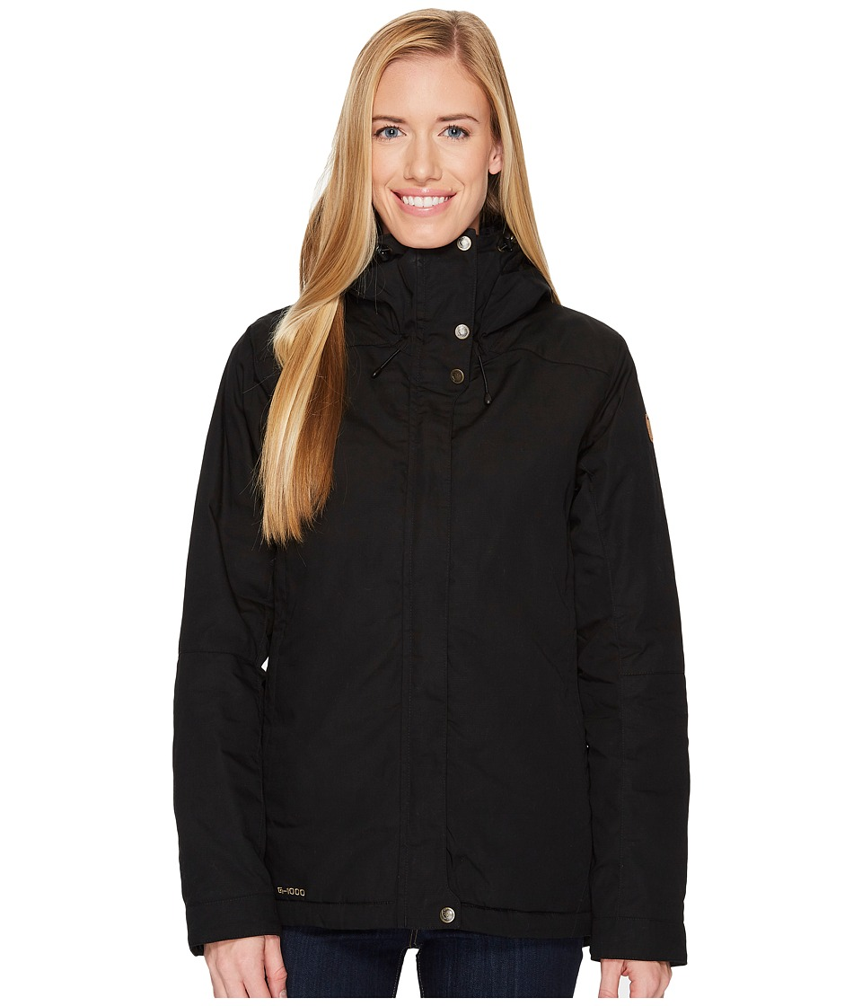 Fjallraven - Skogso Padded Jacket (Black) Womens Coat