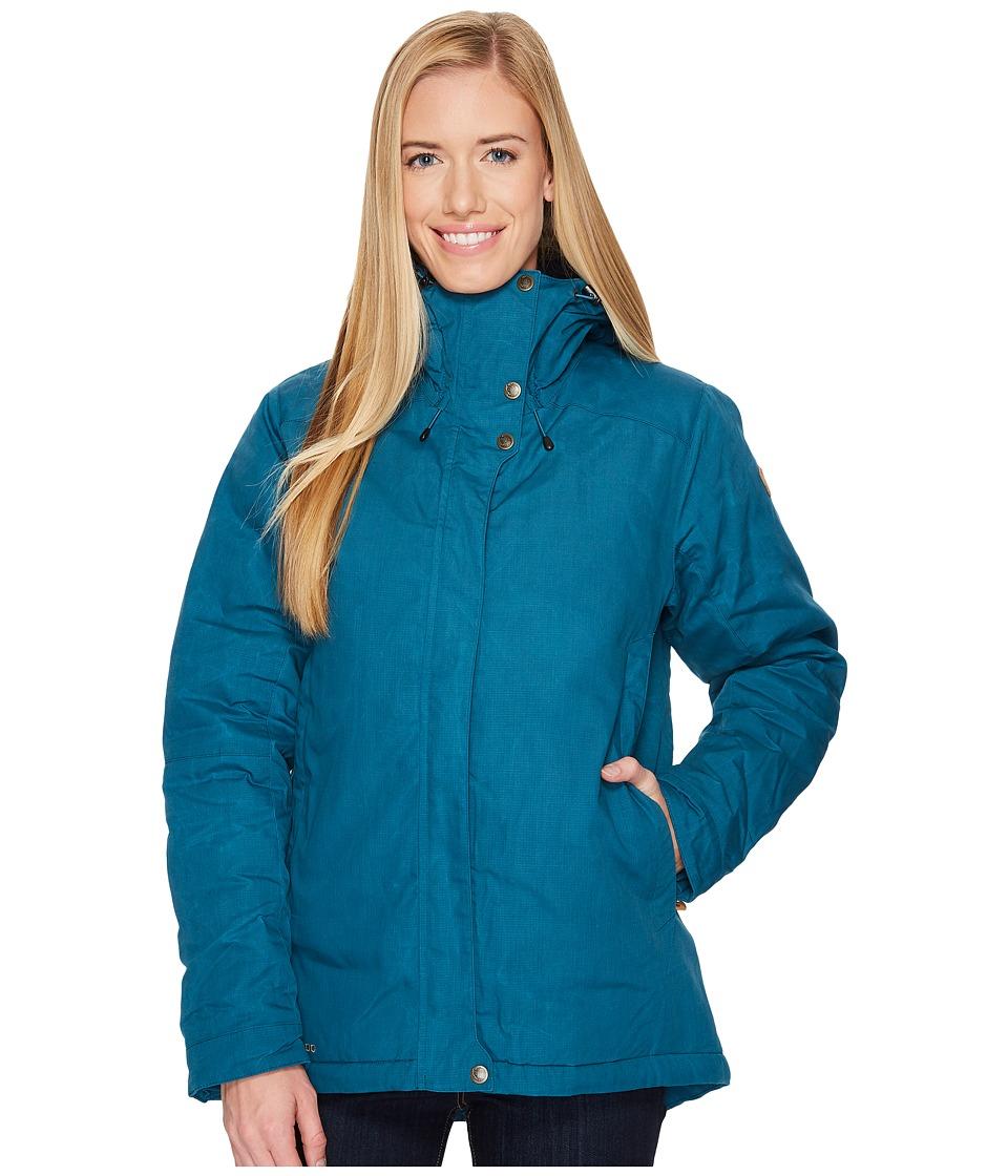 Fjallraven Skogso Padded Jacket (Glacier Green) Women