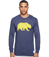 The Original Retro Brand - Cal Bear Long Sleeve Tri-Blend Tee