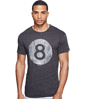 The Original Retro Brand - Mock Twist Short Sleeve Magic 8 Ball Tee