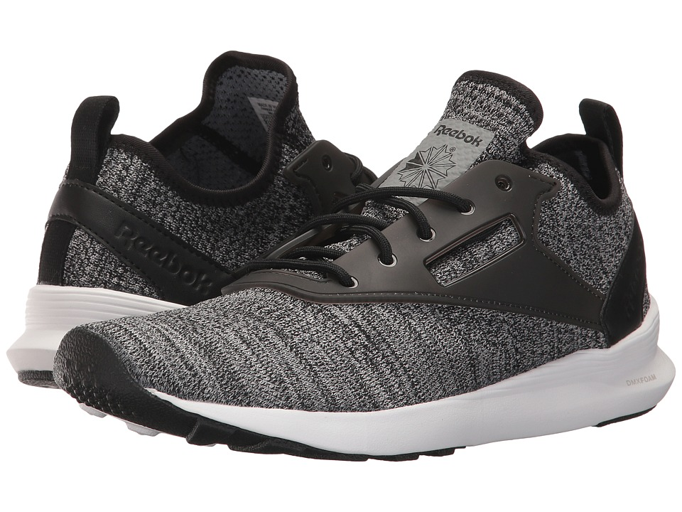 Reebok Lifestyle Zoku Runner ISM (Black/Flint Grey/Steel/White) Athletic Shoes