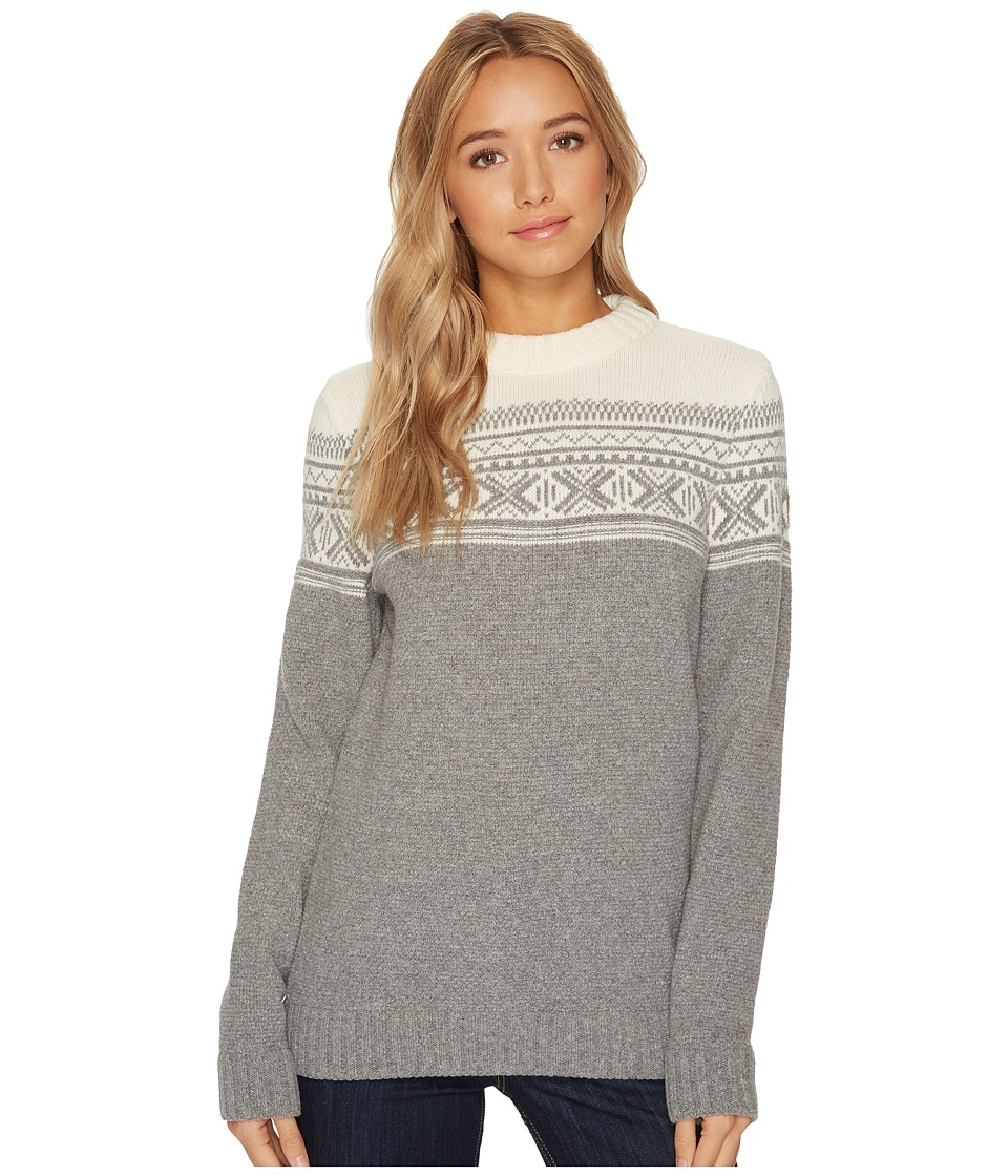 Fjallraven - Ovik Scandinavian Sweater (Grey) Womens Sweater