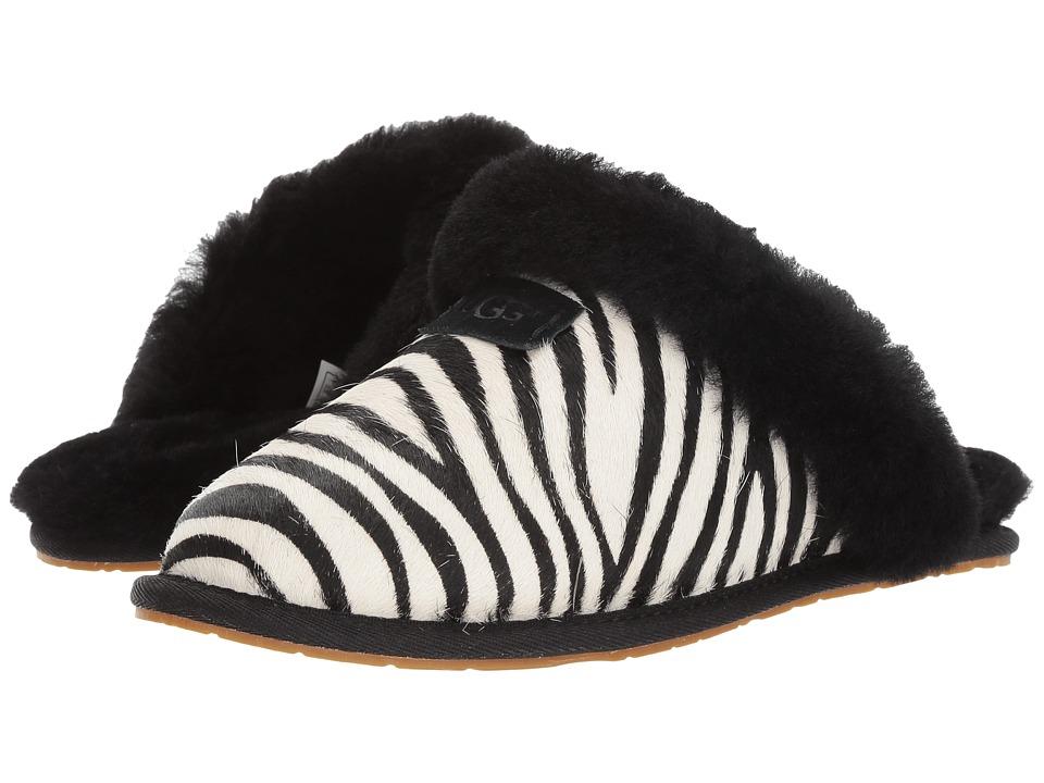 UGG Scuffette II Exotic (Zebra) Women