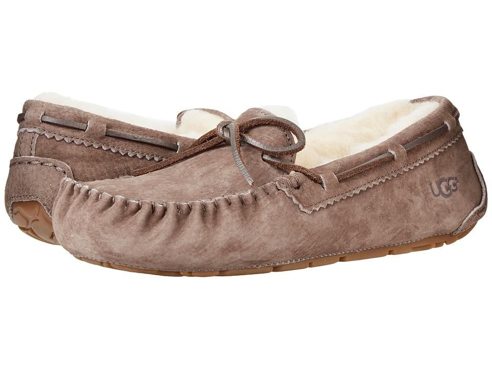 UGG - Dakota Metallic (Slate) Womens Slip on  Shoes