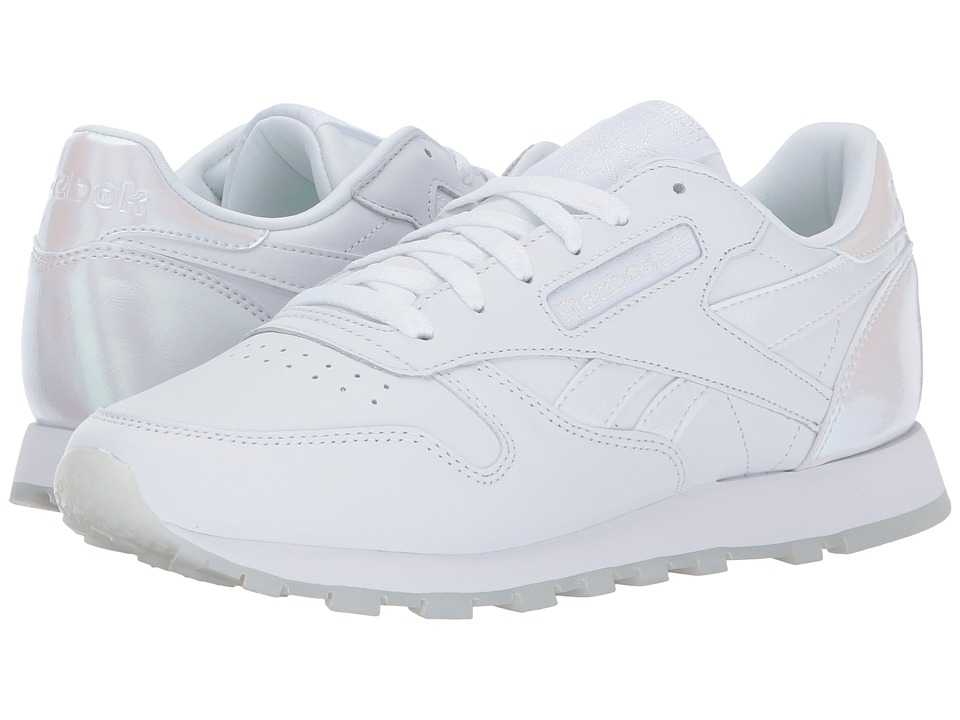 Reebok Lifestyle Classic Leather (White/White/Ice) Women