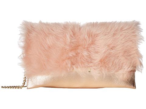 Loeffler Randall Tab Clutch - Pale Pink/Rose Gold