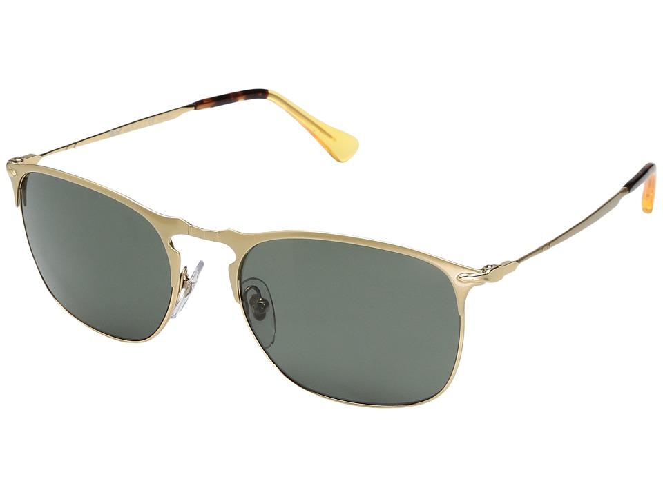 Persol - PO7359S55-P (Gold/Polar Green) Fashion Sunglasses