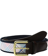 Vineyard Vines - Saba Rock Plaid Canvas Club Belt