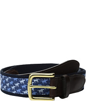 Vineyard Vines - Kentucky Derby Horse Race Canvas Club Belt