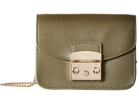 Furla Metropolis Mini Crossbody - Salvia