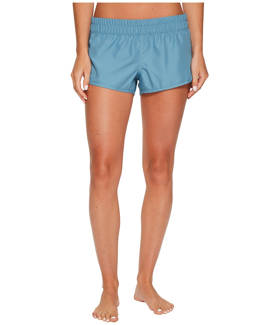 Hurley Supersuede Solid Beachrider Bottoms (Cerulean) Women