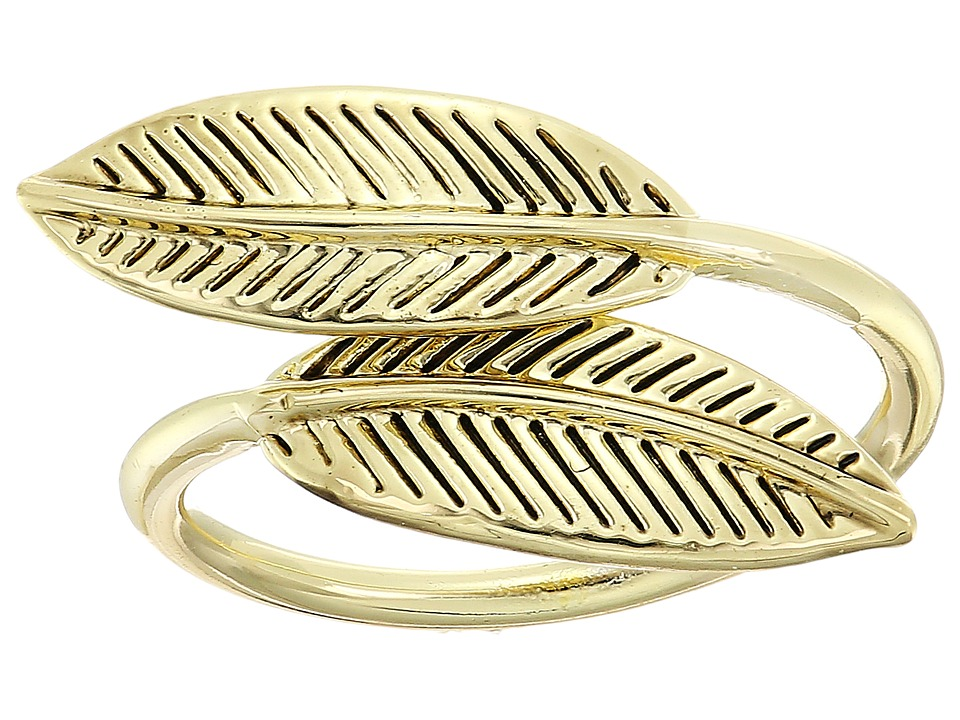 House of Harlow 1960 - Sacred Leaf Wrap Ring