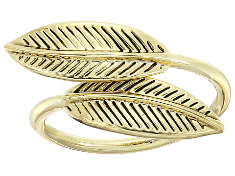 House of Harlow 1960 Sacred Leaf Wrap Ring - Gold