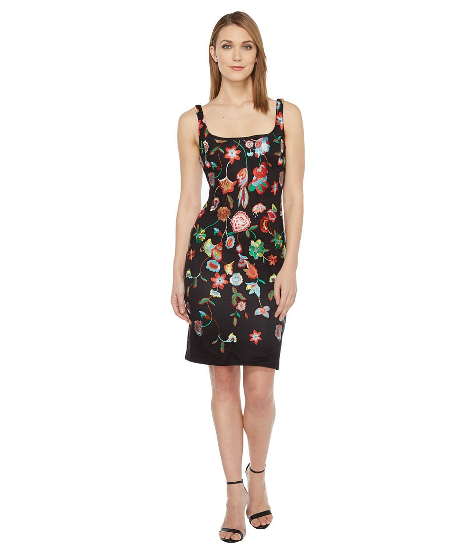 rsvp Cordial Sleeveless Dress (Black/Multi) Women