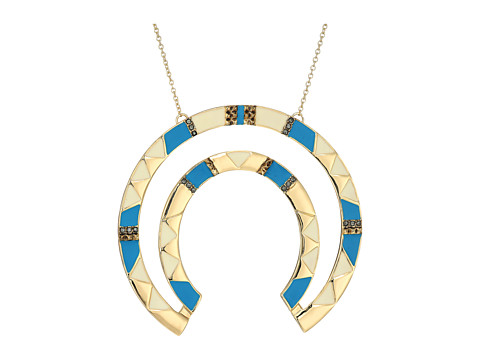 House of Harlow 1960 Nelli Pendant Necklace - Blue