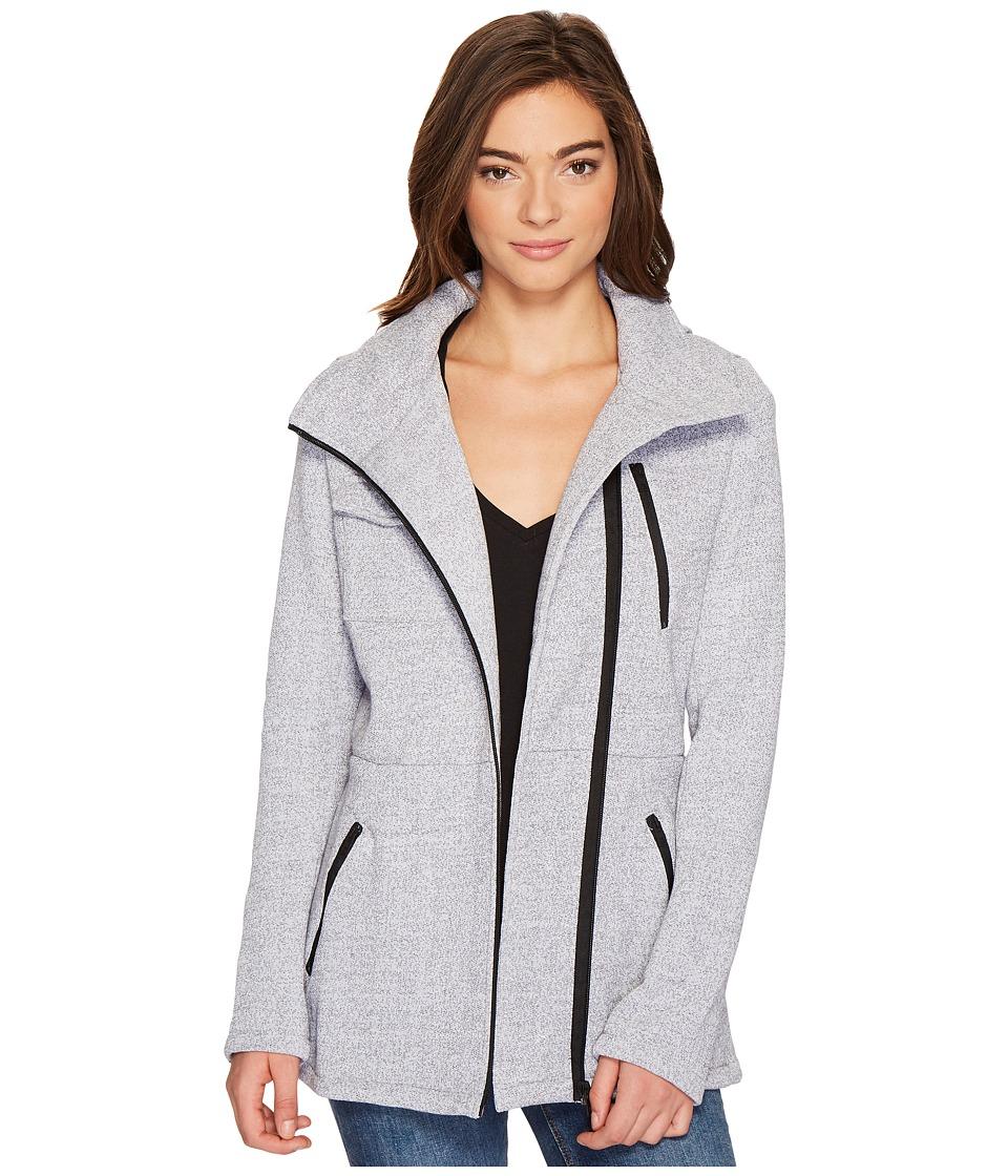 Hurley Winchester Fleece Jacket (Heather Grey) Women