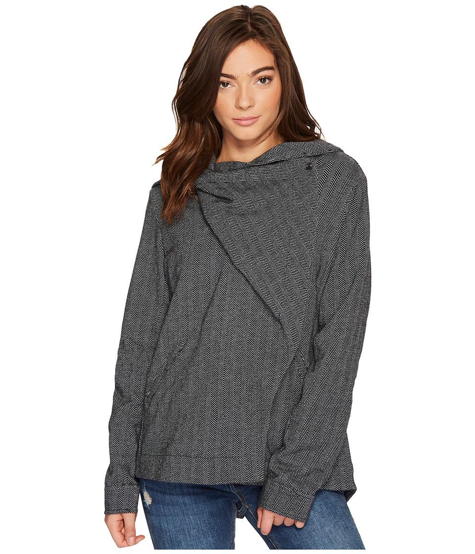 Hurley Rumble Fleece Jacket (Heather Grey) Women
