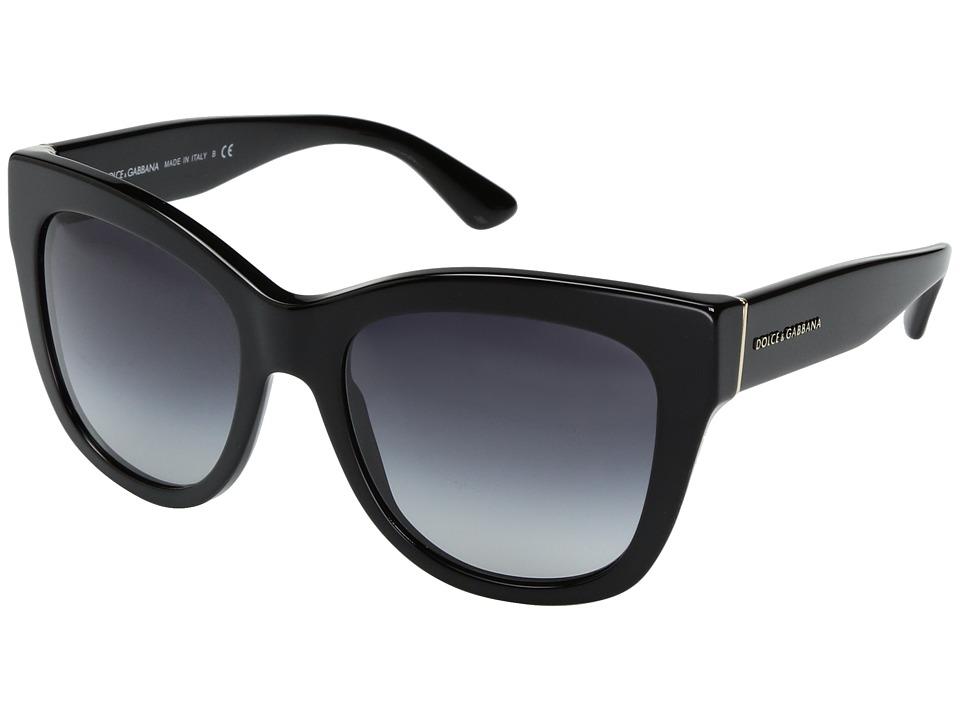 Dolce & Gabbana 0DG4270 (Black/Grey Gradient) Fashion Sun...