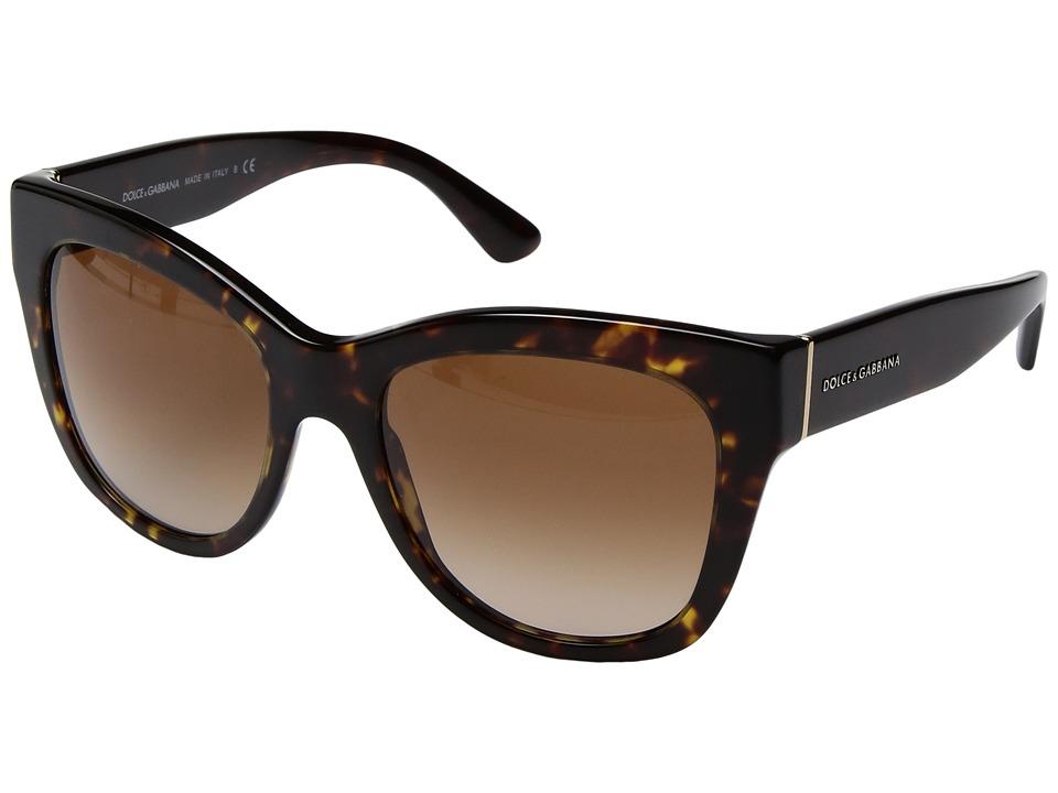 Dolce & Gabbana 0DG4270 (Havana/Brown Gradient) Fashion S...