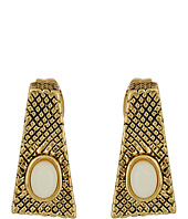 House of Harlow 1960 - Tanta Crosshatch Stud Earrings