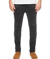nANA jUDY - Moto Jeans in Vintage Black