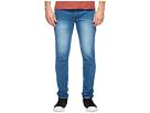 nANA jUDY - The Spring Jeans in Mid Indigo Crinkle