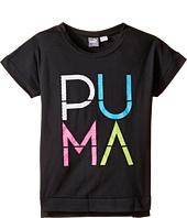 Puma Kids - Drop Shoulder PUMA® Top (Big Kids)