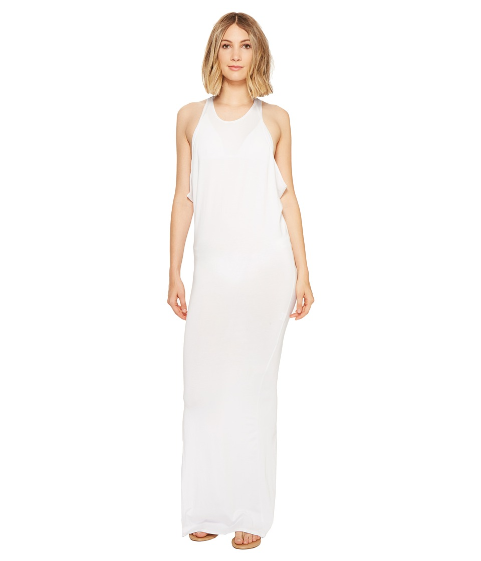 MIKOH SWIMWEAR - Mavericks High Neck Maxi Dress