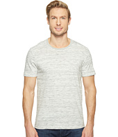 Agave Denim - Leroy Short Sleeve Crew Marble Stripe