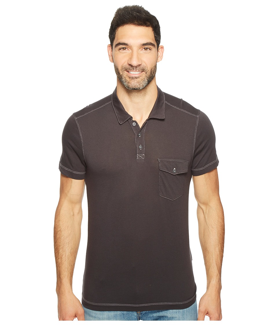 Agave Denim - Spicoli Short Sleeve Rugby Polo Supima Modal