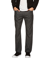 Agave Denim - Classic Straight Coco Melange Twill in Black Sea