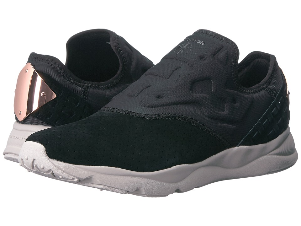 Reebok Lifestyle Furylite Slip-On FBT (Black/Sand Stone) Women